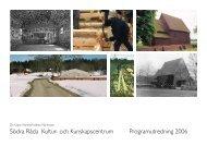 Programutredning. Södra Råda Kultur- och kunskapscentrum.