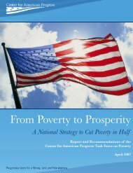 From Poverty to Prosperity - Center for American Progress