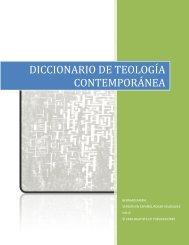 Diccionario de Teología Contemporánea (Bernard Ramm)