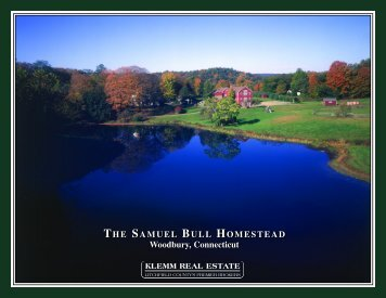 THE SAMUEL BULL HOMESTEAD Woodbury, Connecticut THE ...