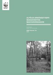 alföldi erdőssztyepp- maradványok magyarországon - Zöld Pók ...