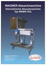 WAMA-VOL - WAGNER Maschinen GmbH