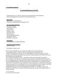 Einwendungen gemäß § 54 Abs - Rosenau am Hengstpaß