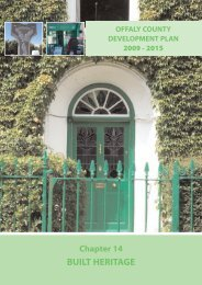 Chapter 14 - Built Heritage.pdf - Offaly County Council