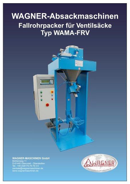 Typ WAMA-FRV - WAGNER Maschinen GmbH