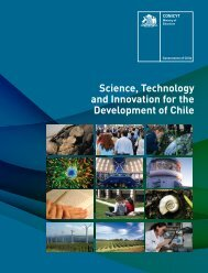 Science, Technology and Innovation for the Development ... - Conicyt