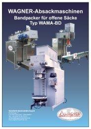 Typ WAMA-BD - WAGNER Maschinen GmbH