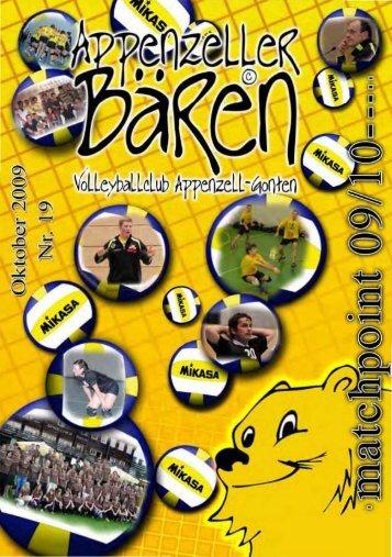 Ausgabe 2009/10 - bei den Appenzeller Bären