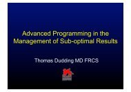 Advanced Programming in the Management of Sub ... - Medtronic