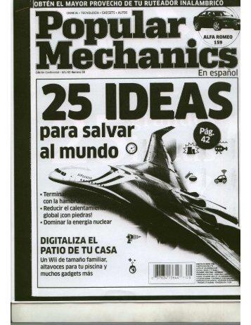 25 ideas para salvar el mundo