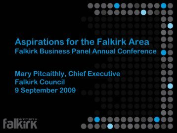 Aspirations for the Falkirk Area (PDF, 1.7MB) - My Future's in Falkirk