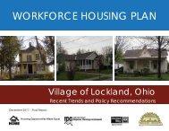WORKFORCE HOUSING PLAN - Hamilton County, Ohio