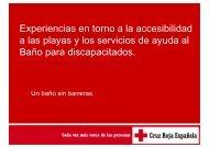 Experiencias en torno a la accesibilidad p a las ... - Pladesemapesga