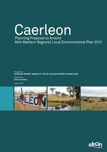 Planning Proposal to Amend Mid-Western Regional Local ...