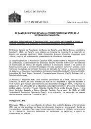 Descargar nota de prensa completa - XBRL España