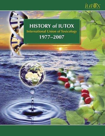 HISTORY of IUTOX 1977–2007