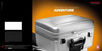 Accessories Brochure - Honda