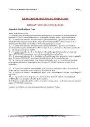 EJERCICIOS DE SISTEMAS DE PRODUCCION