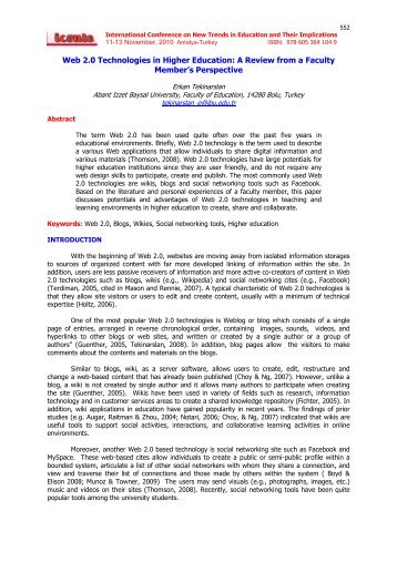 Technology in Education Position Paper