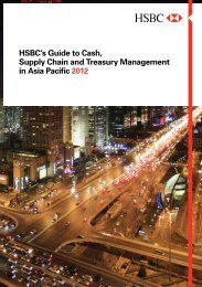 HSBC's Guide to Cash, Supply Chain and Treasury ... - HSBC.com
