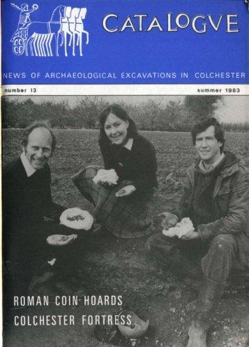 Catalogue - Summer 1983 - Colchester Archaeological Trust