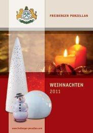 Weihnachts - Freiberger Porzellan