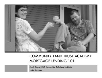 PDF of Slides - National Community Land Trust Network