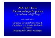 ABC dell' ECG: Elettrocardiografia pratica - Cuorediverona.it