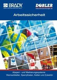 Katalog Warnaufsteller, Sperrpfosten, Ketten und Zubehör
