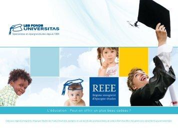 L'éducation : Peut-on offrir un plus beau cadeau ? - Fonds Universitas