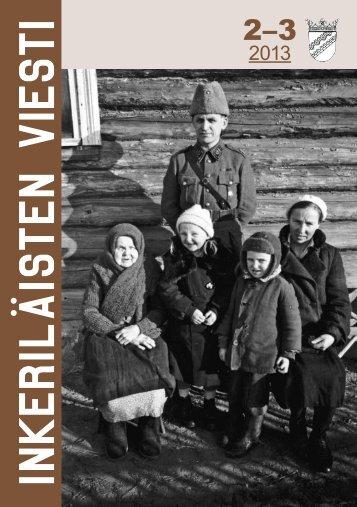 2/2013 - Suomen Inkeri-liitto ry