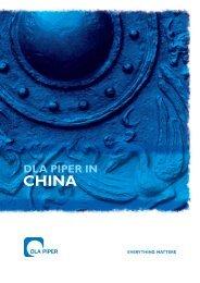 DLA Piper in China - CBI