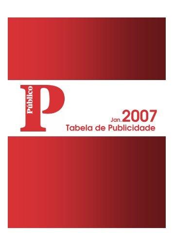 Tabela de Publicidade - Público