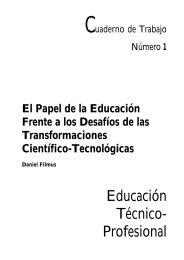 El papel de la Educación frente a los Desafíos de las ... - OEI