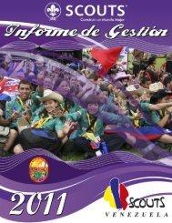 Informe de Gestión 2011 - Scouts de Venezuela
