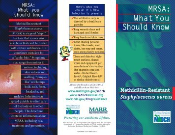 What you should know MRSA