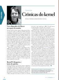 Crônicas do kernel - Linux Magazine