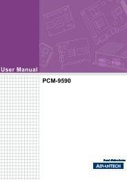 User Manual PCM-9590