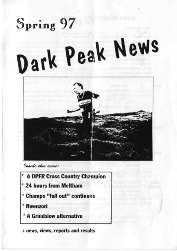 Spring 97 - Dark Peak Fell Runners
