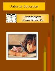 Asha SV Report - 2004 - Asha for Education