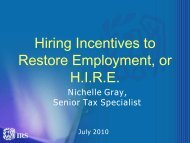 Hiring Incentives to Restore Employment, or H.I.R.E.