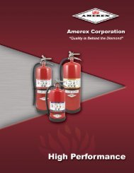 High Performance Extinguisher Specifications Heavy Duty ...