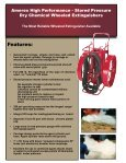 High Performance Extinguisher Specifications Heavy Duty ... - Page 4