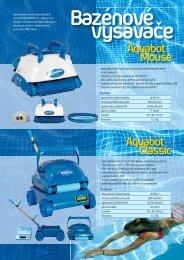 Robotické vysavače Aquatron - pdf