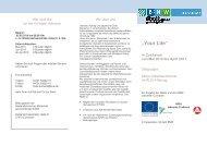 Flyer Your Life 2010 - Job & Ausbildung