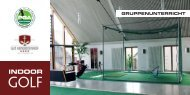 INDOOR - Golfclub Regensburg-Sinzing am Minoritenhof e.V.