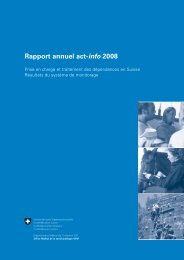 Rapport annuel act-info 2008