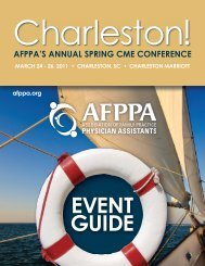 Brochure - Association of Family Practice Physician Assistants