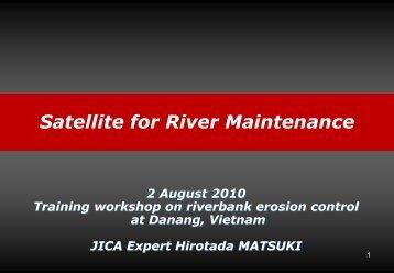 Observation Satellites River - International Flood Network