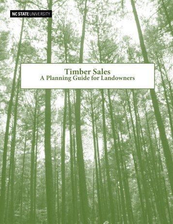 Timber Sales - North Carolina Cooperative Extension Service ...
